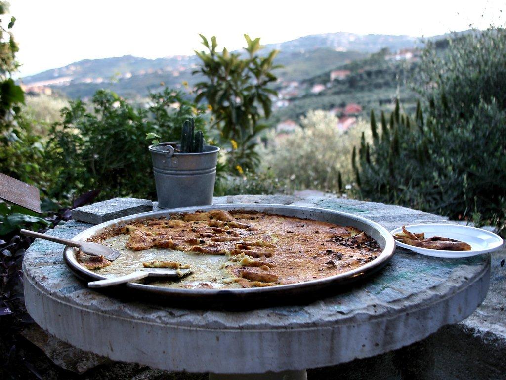 traditional recipes Farinata Ricette tradizionali visit Savona