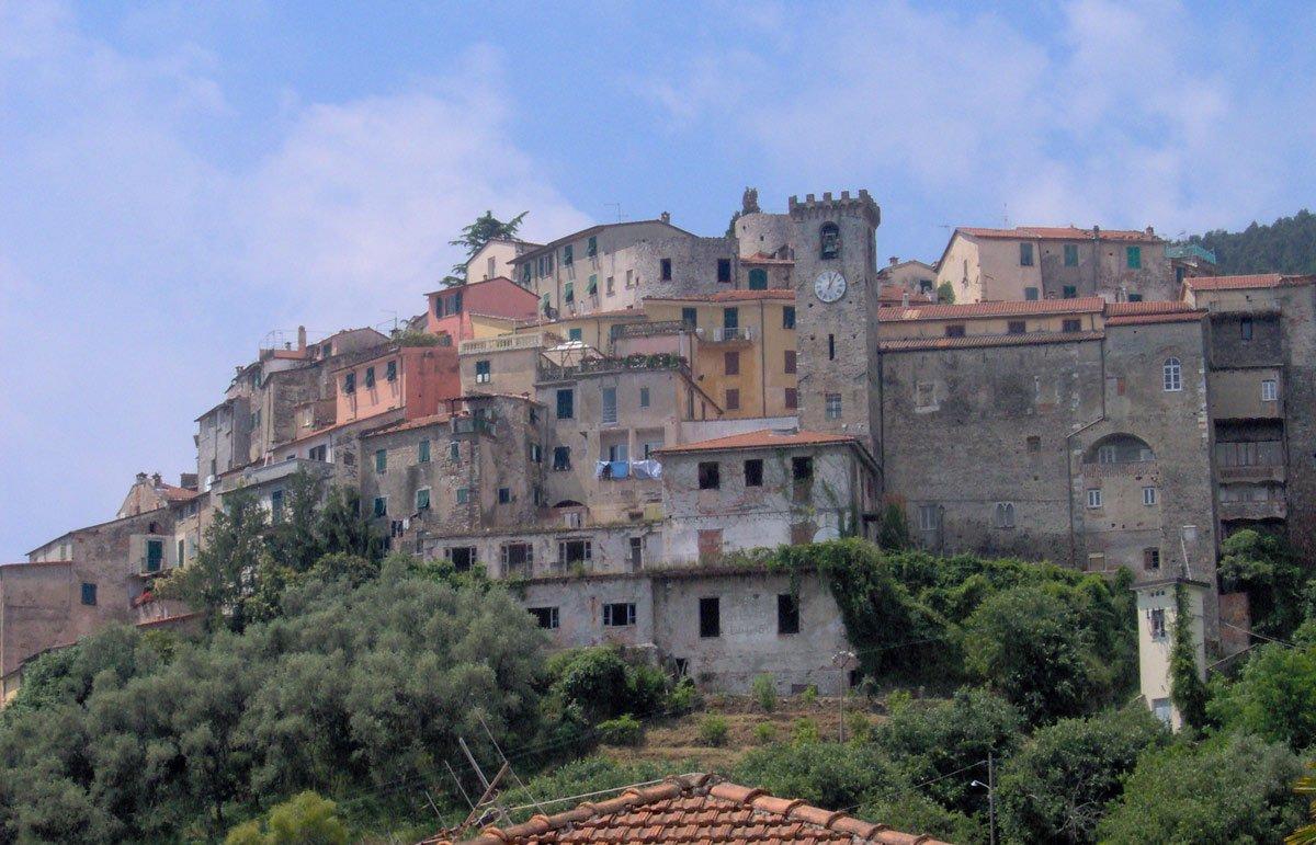 borghi in Liguria villages in Liguria Ameglia