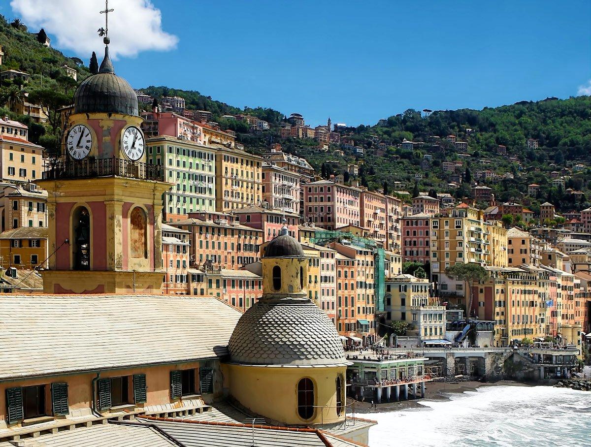 borghi in Liguria villages in Liguria Camogli