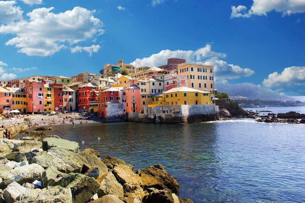 Villages in Liguria Borghi in Liguria Genova Boccadasse